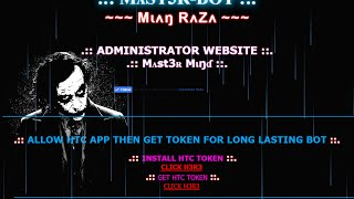 HOW TO MAKE PERSONAL BOT SITE (URDU)  (2016)