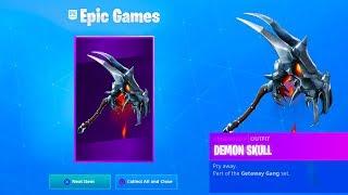 """How To Unlock The """"DEMON SKULL"""" Pickaxe In Fortnite!"""