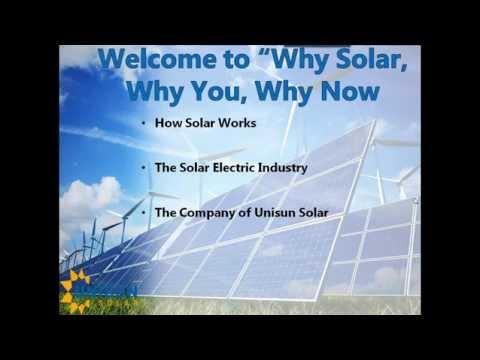 Residential Solar Electricity Presentation