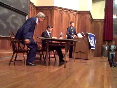 John Kerry at Yale
