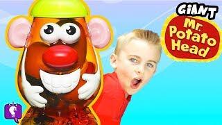 GIANT POTATO HEAD Toy Play with HobbyKidsTV