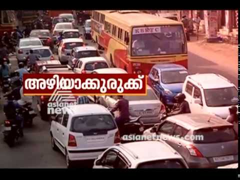 Traffic congestion in Thiruvananthapuram City