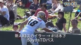 アメフト◆2018オービックシーガルズ春-2 vs.富士通 thumbnail