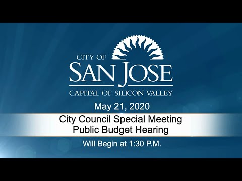 MAY 21, 2020 | City Council 2020-2021 Proposed Budget