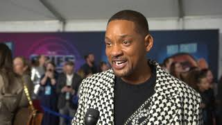 "Will Smith  star of ""Spies In Disguise""  on FabTV"