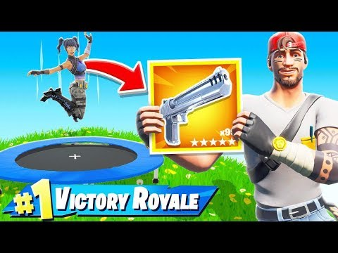 BOUNCE For LOOT in Fortnite!