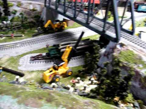 Jim McManus's train layout