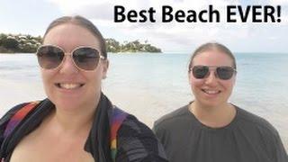 Antigua BEACH paradise! Cruise Vacation Vlog [episode 19]