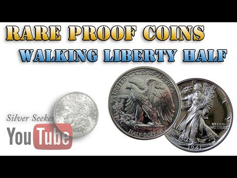 1942 PROOF Walking Liberty Half Dollar - Rare Proof Coins!