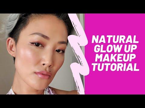Natural *GLOW UP* Makeup Tutorial thumbnail