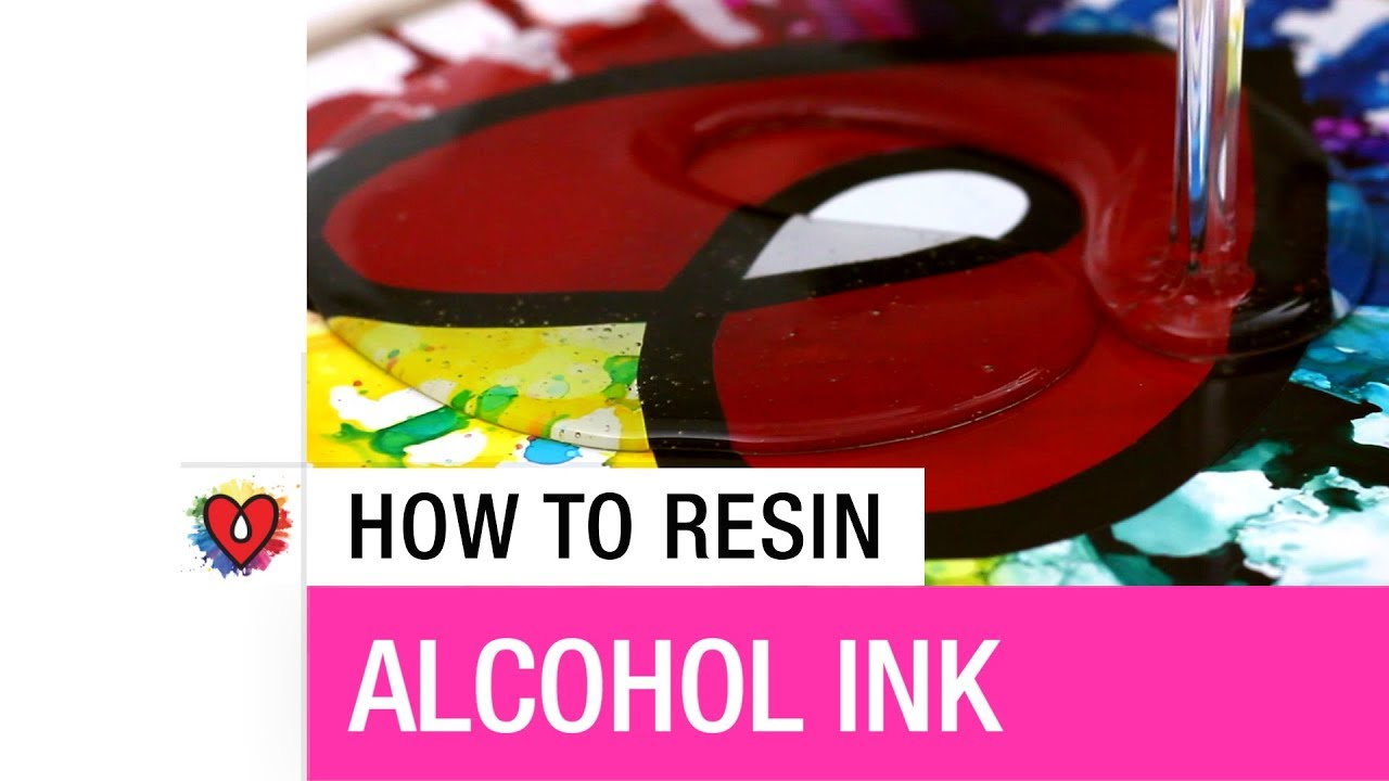 How To Resin Alcohol Ink