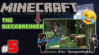 "MINECRAFT Escape: The SIEGEBREAKER z Emi! [5/x] - ""Wyspa heretyków"""