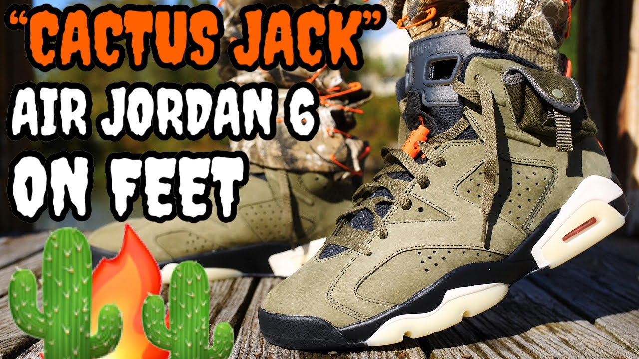Download WORTH THE HYPE!? TRAVIS SCOTT CACTUS JACK AIR JORDAN 6 ON FEET REVIEW! EVERYTHING YOU NEED TO KNOW!