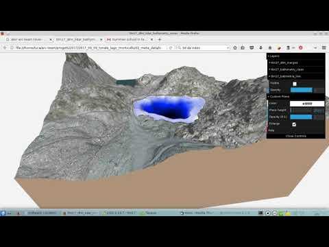 Monticello Lake (Paradiso Pass): LIDAR + sonar