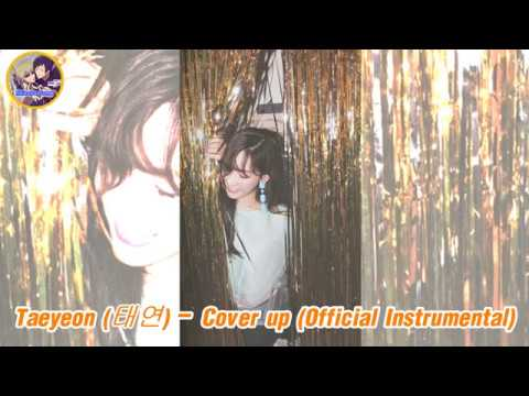 Taeyeon (태연) - Cover up [Official Instrumental]