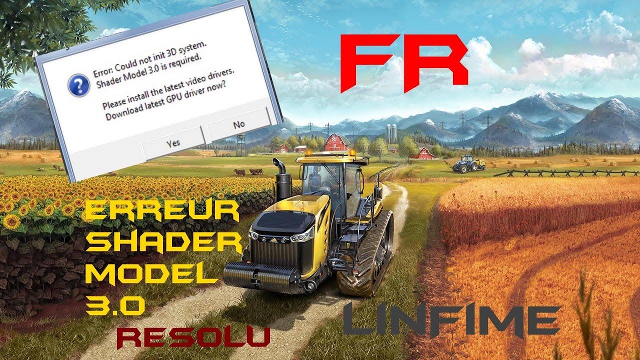 shader model 3.0 gratuit