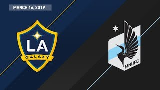 LA Galaxy vs. Minnesota United FC | HIGHLIGHTS - March 16, 2019