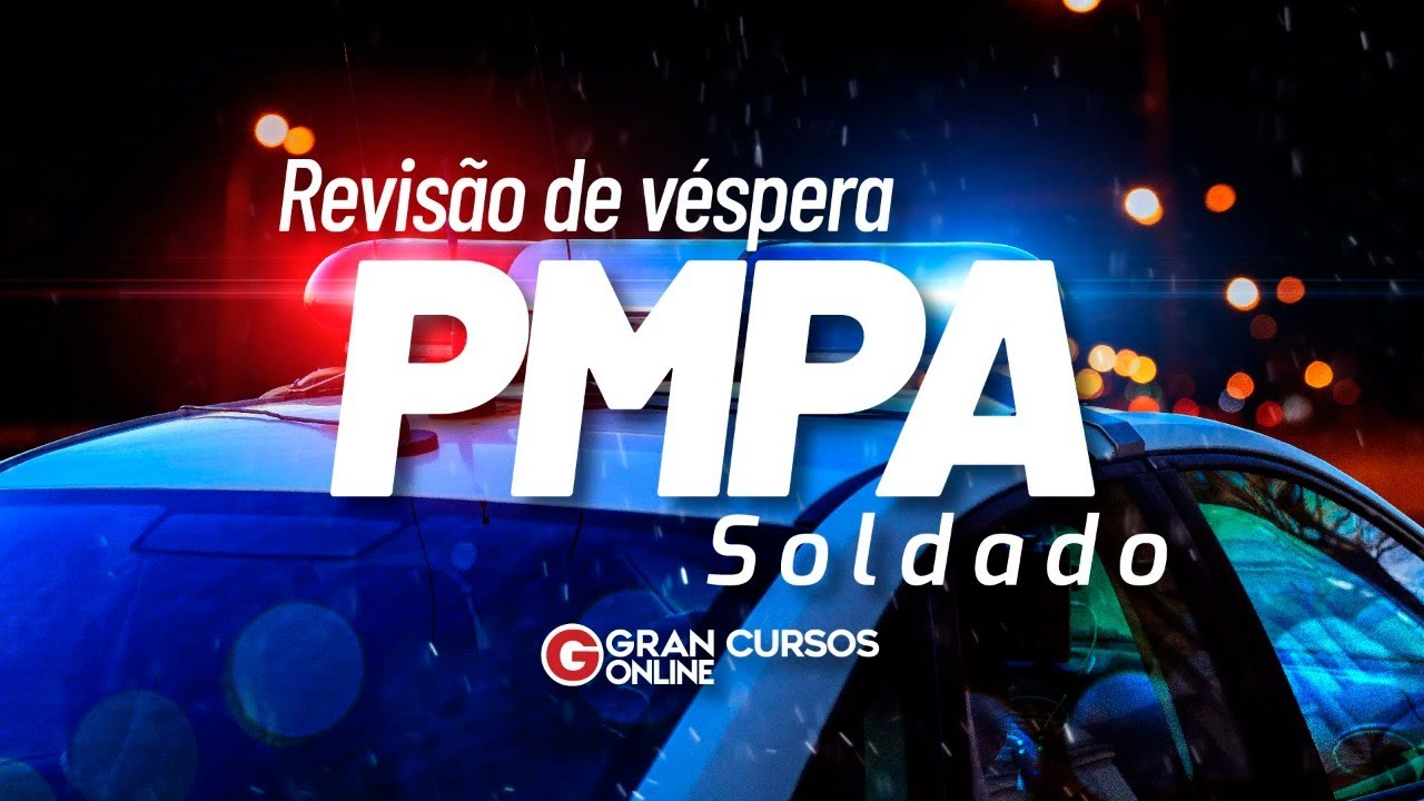 Download Concurso PMPA: Revisão de Véspera Soldado
