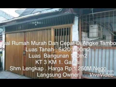 Rumah Murah Di Jual Cepat Di Angke Tambora Jakarta Barat ...
