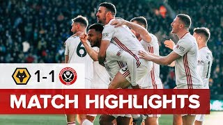 Wolves 1-1 Sheffield United | Highlights | 4 IN 6 FOR MOUSSET