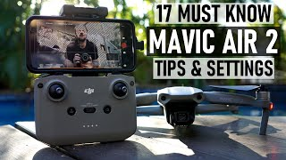 17 MUST KNOW Mavic Air 2 Tips & Settings + Secret Menu | DansTube.TV