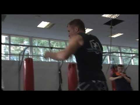 Muay thai & K-1 training with Albert Kuksenok