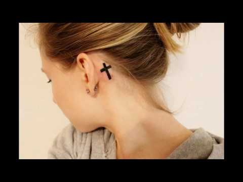 17 Cool Behind The Ear Tattoos