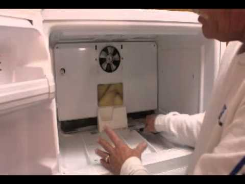 Water Leaking Inside Ge Or Hotpoint Refrigerator Freezer