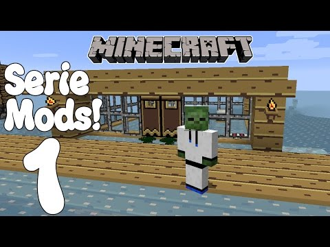 NUEVA SERIE! Minecraft SERIE DE MODS! Las Aventuras Madafakas! Cap.1!