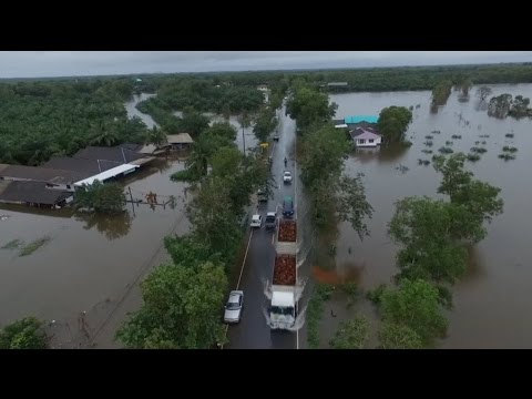 Southern Thailand Affected by Persisting Flooding