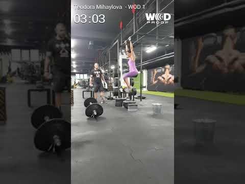 Teodora Mihaylova Q1 Varna Throwdown 2018