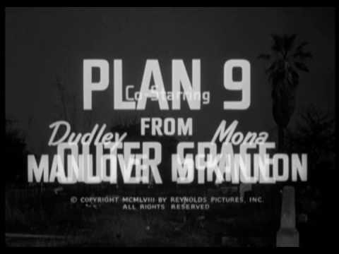 PLAN 9 FROM OUTER SPACE 1959 VOSTF Génerique Teaser