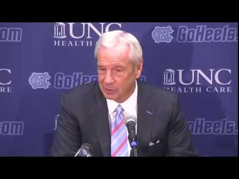 UNC Men's Basketball: Roy Williams Post Texas Press Conference