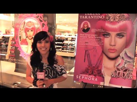 "Tarina Tarantino Kicks Off the ""Get Ready to Sparkle"" Tour"