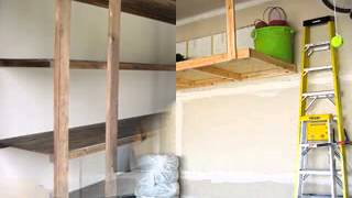 Homemade Diy Garage Shelving Ideas