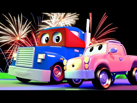 The Cherry Picker Truck - Carl the Super Truck - Car City ! Cars and Trucks Cartoon for kids