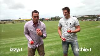 McCaw Vs Dagg - Juggling