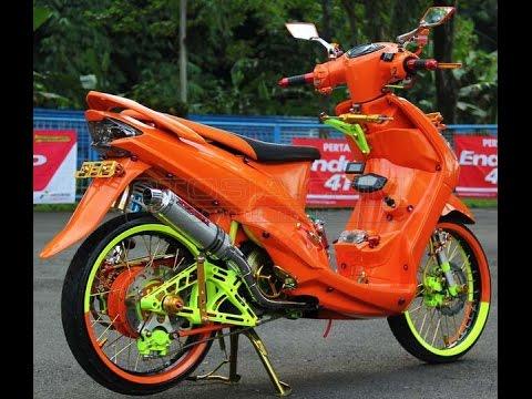 kumpulan modifikasi motor matic velg 17