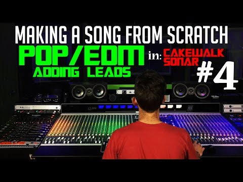 Making A Pop/EDM Song From Scratch - #4 Leads