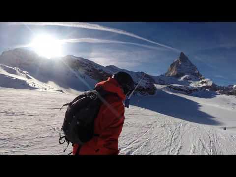 Skiing around the Matterhorn - Zermatt and Cervinia