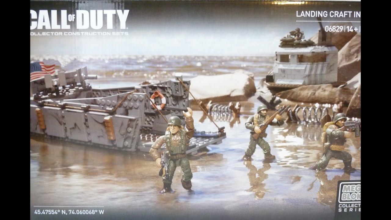 Rob A Reviews Mega Bloks Call Of Duty Landing Craft