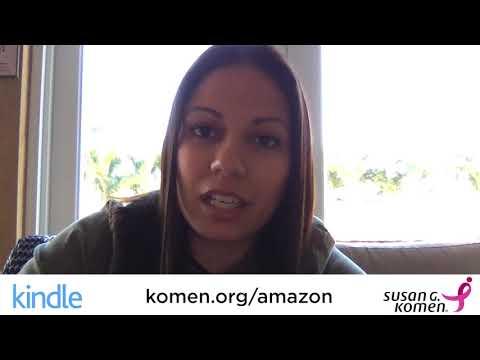 Komen & Amazon: Everybody Has a Story- Claire Contreras