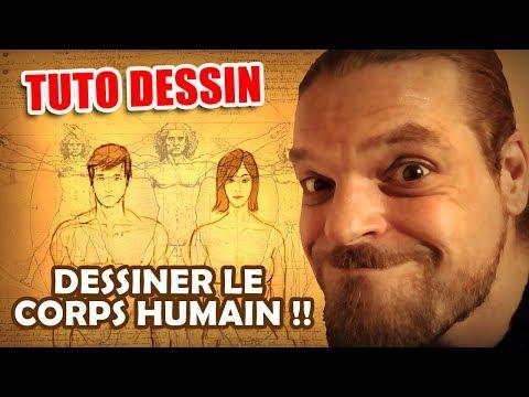 DESSINER LE CORPS HUMAIN !!! (Proportions H et F)
