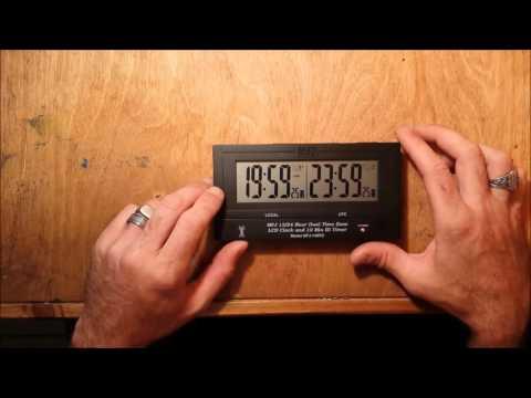 MFJ-148RC radio controlled clock atomic clock