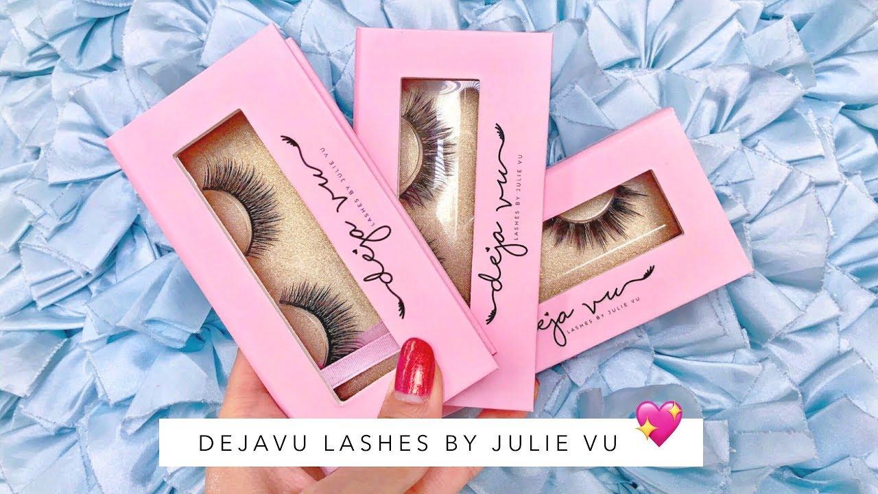 DEJAVU LASHES by JULIE VU (PRINCESSJOULES) - YouTube 8a2b56041d14