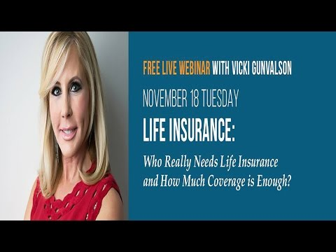 REAL Housewives of Orange County Vicki Gunvalson Life Insurance