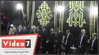 صباحى وأبو الفتوح والقصاص بعزاء الراحل عبد العظيم مناف