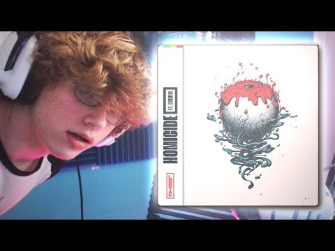 "16 YEAR OLD KILLS ""LOGIC - HOMICIDE"" COVER"