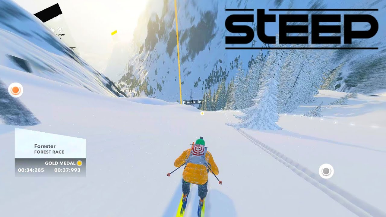 STEEP GAMEPLAY – SKIING, SNOWBOARDING & PARAGLIDING
