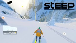 STEEP GAMEPLAY - SKIING, SNOWBOARDING & PARAGLIDING